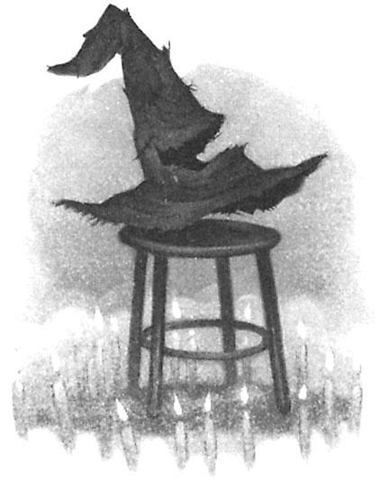 The Sorting Hat, chapter art, harry potter, slytherin, gryfindor, hufflepuff, ravenclaw