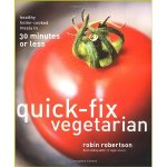 quick-fix vegetarian, robin robertson, book cover, cookbook