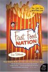 fast-food nations, eric schlosser, book cover, documentary