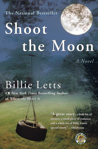 book cover, book review, shoot the moon, billie letts, mystery, oklahoma