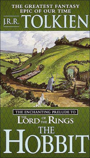 The Hobbit, The lord of the rings, J.R.R. Tolkien, book review, book cover