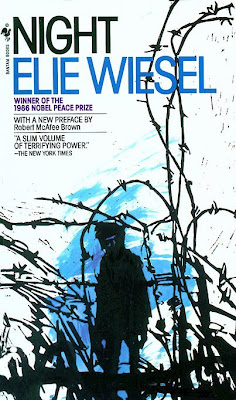 night, ellie wiesel, book cover, book review, holocaust