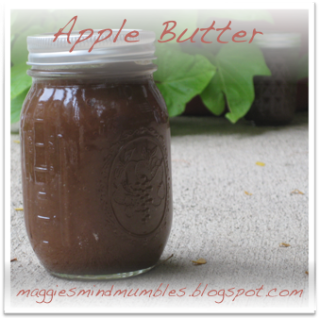 Maggie's Mind Mumbles//: Slow-Cooker Apple Butter