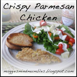 Maggie's Mind Mumbles//: Parmesan Chicken