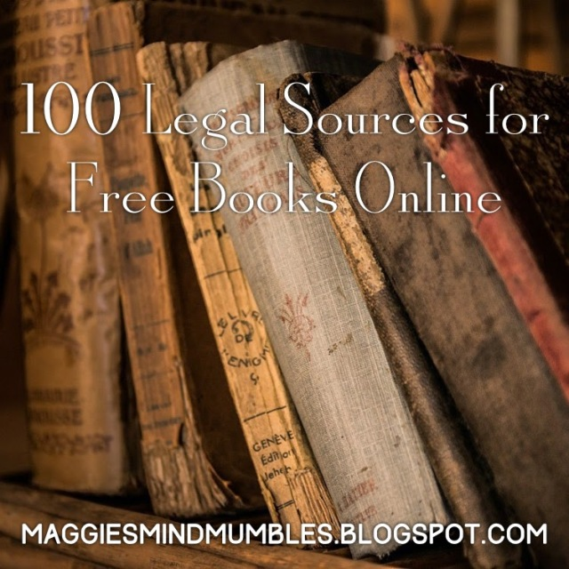 Maggie maggies mind mumbles 100 legal sources for free books online fandeluxe Choice Image